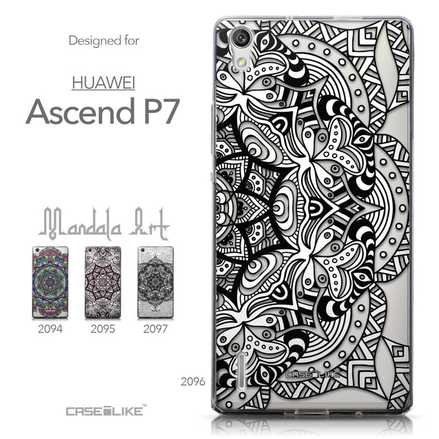 Collection - CASEiLIKE Huawei Ascend P7 back cover Mandala Art 2096