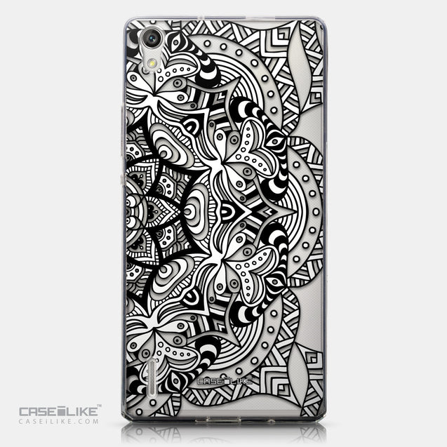CASEiLIKE Huawei Ascend P7 back cover Mandala Art 2096