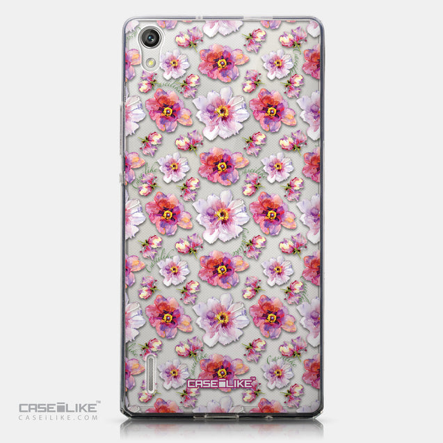 CASEiLIKE Huawei Ascend P7 back cover Watercolor Floral 2232