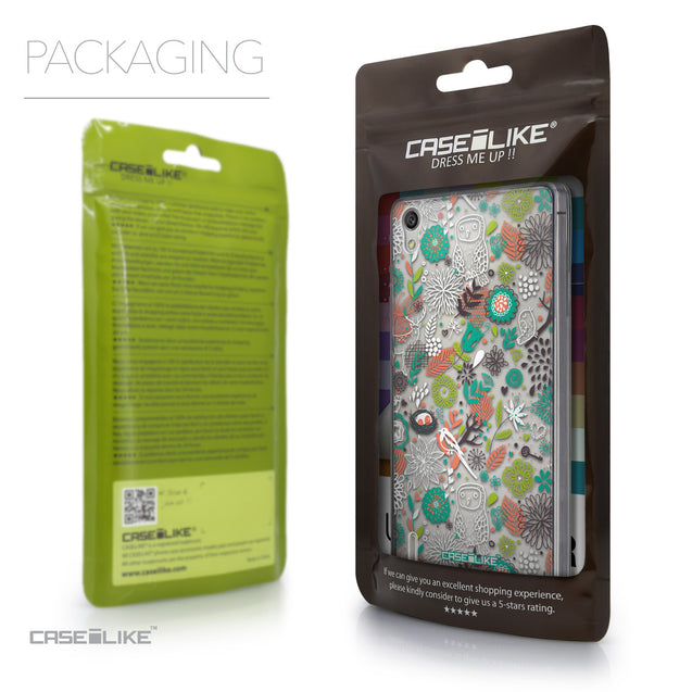 Packaging - CASEiLIKE Huawei Ascend P7 back cover Spring Forest White 2241