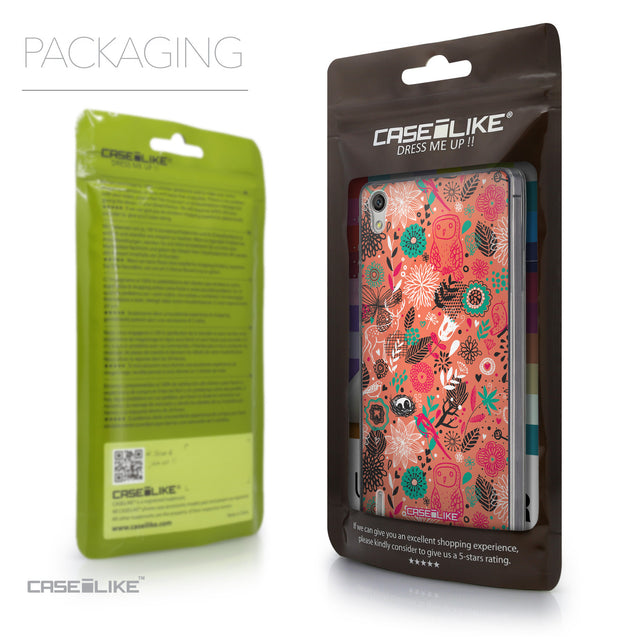 Packaging - CASEiLIKE Huawei Ascend P7 back cover Spring Forest Pink 2242