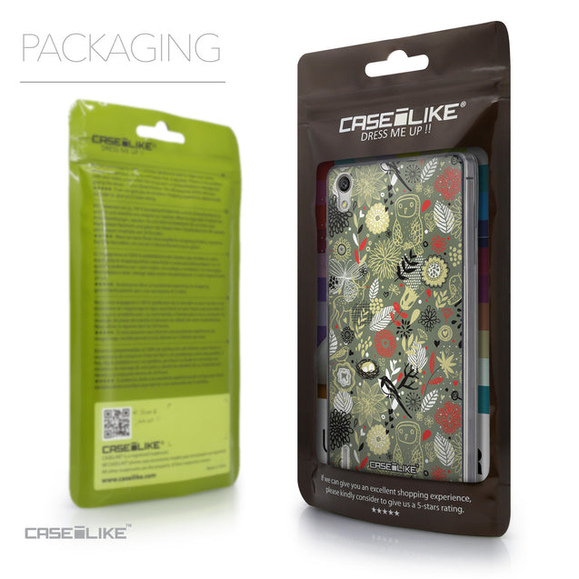 Packaging - CASEiLIKE Huawei Ascend P7 back cover Spring Forest Gray 2243
