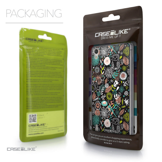 Packaging - CASEiLIKE Huawei Ascend P7 back cover Spring Forest Black 2244