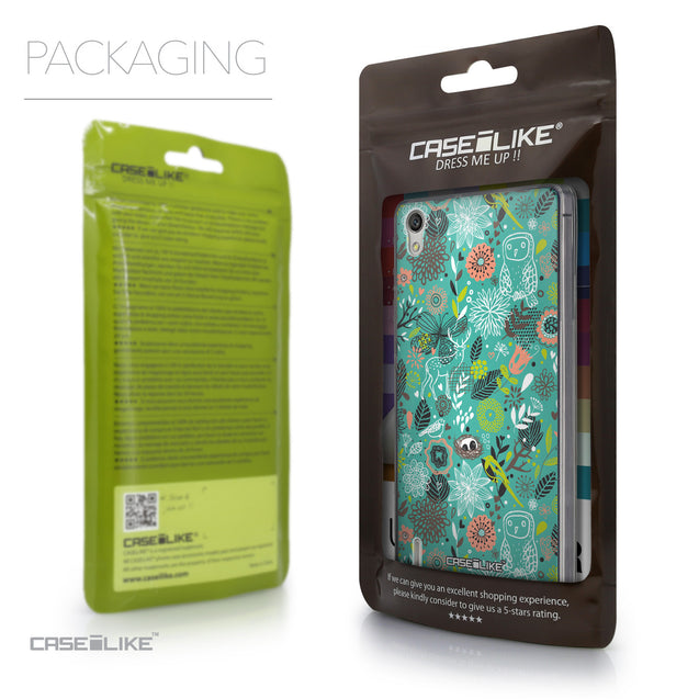 Packaging - CASEiLIKE Huawei Ascend P7 back cover Spring Forest Turquoise 2245
