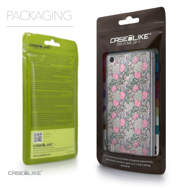 Packaging - CASEiLIKE Huawei Ascend P7 back cover Flowers Herbs 2246