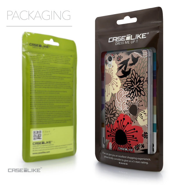 Packaging - CASEiLIKE Huawei Ascend P7 back cover Japanese Floral 2254