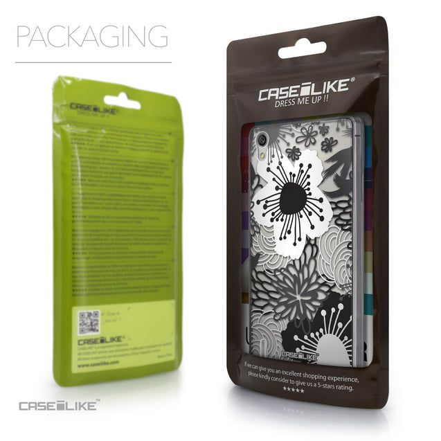 Packaging - CASEiLIKE Huawei Ascend P7 back cover Japanese Floral 2256