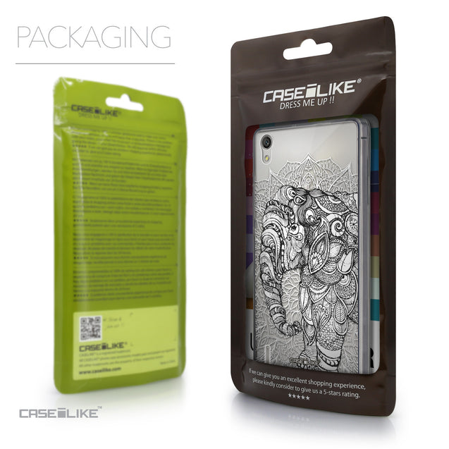 Packaging - CASEiLIKE Huawei Ascend P7 back cover Mandala Art 2300