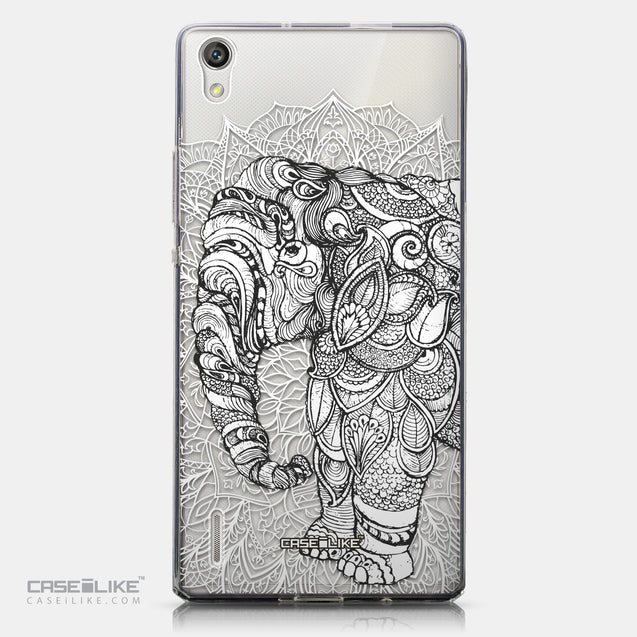 CASEiLIKE Huawei Ascend P7 back cover Mandala Art 2300
