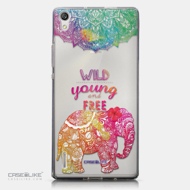 CASEiLIKE Huawei Ascend P7 back cover Mandala Art 2302