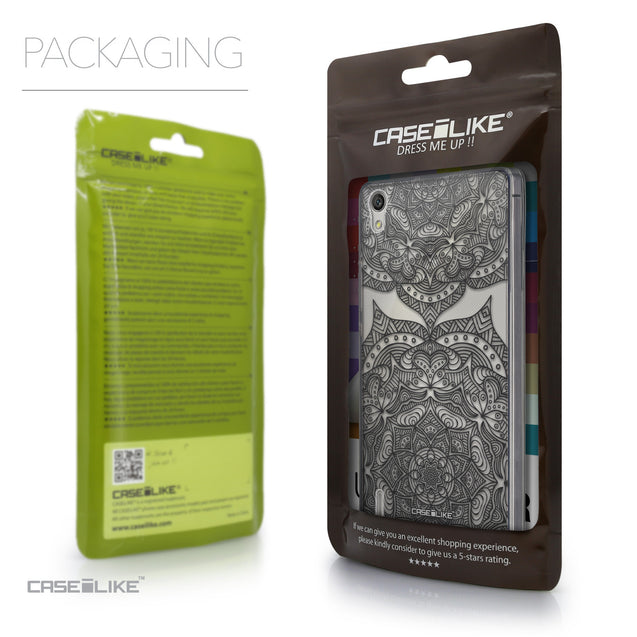Packaging - CASEiLIKE Huawei Ascend P7 back cover Mandala Art 2304