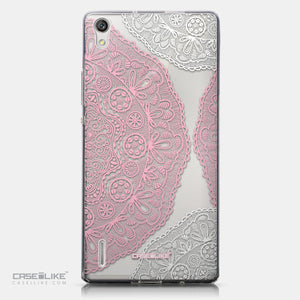 CASEiLIKE Huawei Ascend P7 back cover Mandala Art 2305