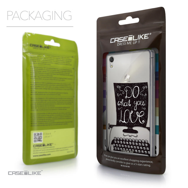Packaging - CASEiLIKE Huawei Ascend P7 back cover Quote 2400
