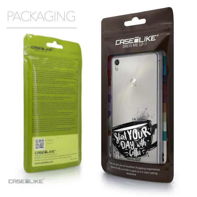 Packaging - CASEiLIKE Huawei Ascend P7 back cover Quote 2402