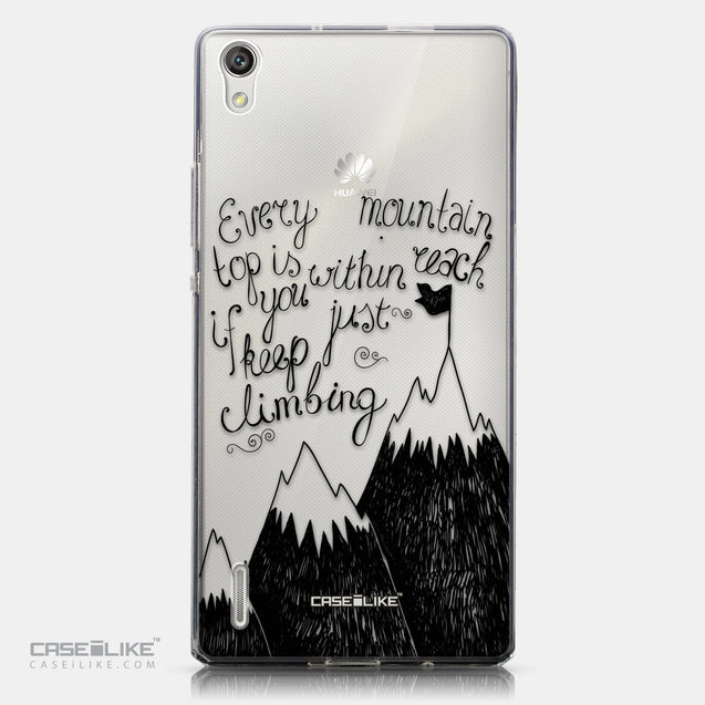 CASEiLIKE Huawei Ascend P7 back cover Quote 2403