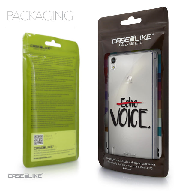 Packaging - CASEiLIKE Huawei Ascend P7 back cover Quote 2405