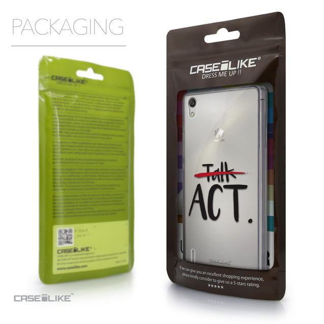Packaging - CASEiLIKE Huawei Ascend P7 back cover Quote 2408