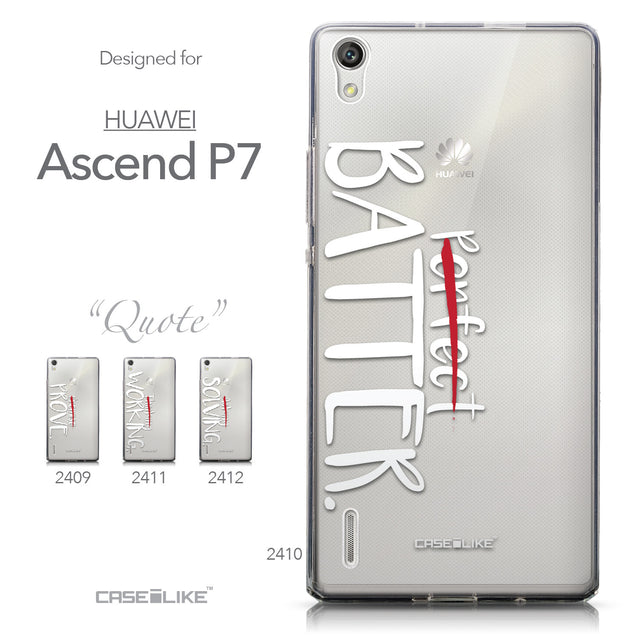 Collection - CASEiLIKE Huawei Ascend P7 back cover Quote 2410