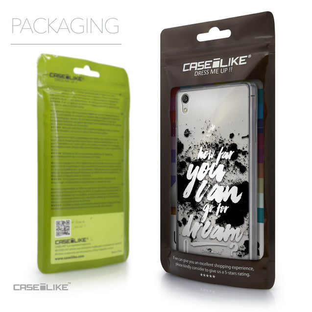 Packaging - CASEiLIKE Huawei Ascend P7 back cover Quote 2413