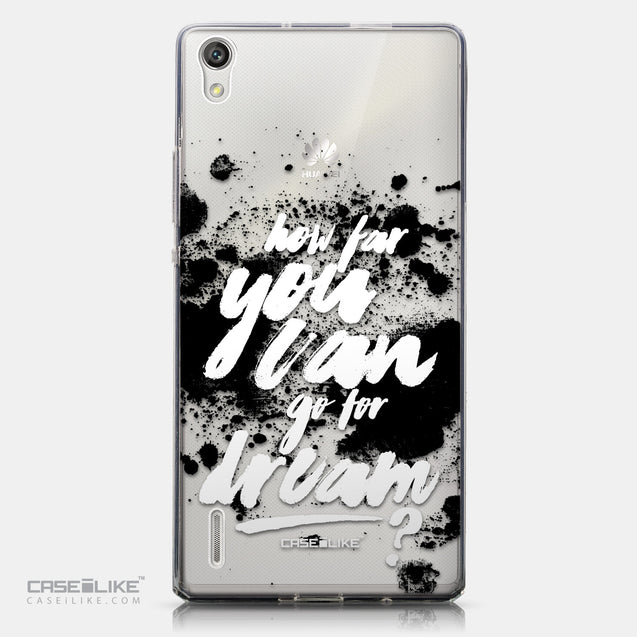 CASEiLIKE Huawei Ascend P7 back cover Quote 2413