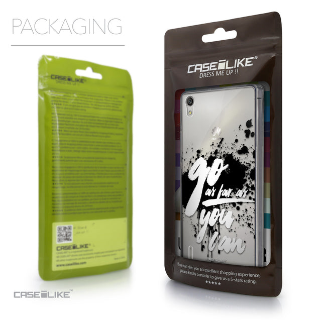 Packaging - CASEiLIKE Huawei Ascend P7 back cover Quote 2415