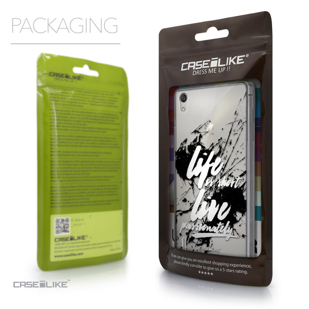 Packaging - CASEiLIKE Huawei Ascend P7 back cover Quote 2416
