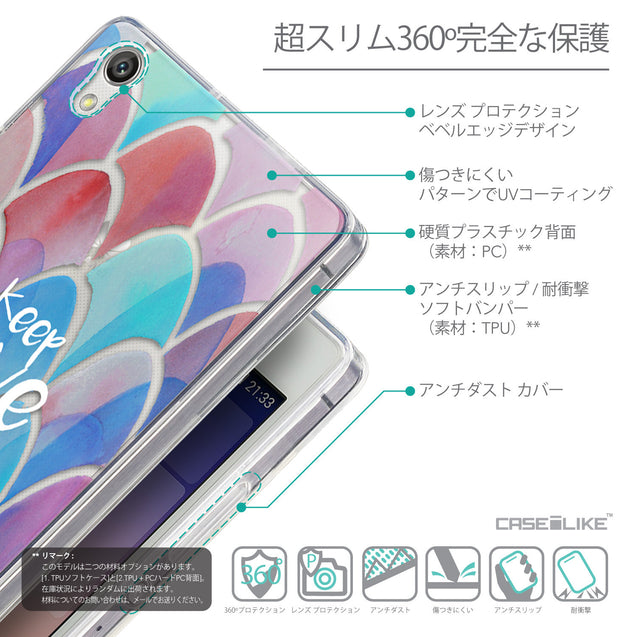 Details in Japanese - CASEiLIKE Huawei Ascend P7 back cover Quote 2417