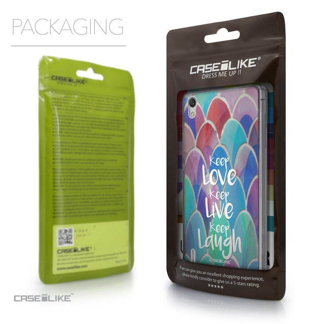 Packaging - CASEiLIKE Huawei Ascend P7 back cover Quote 2417