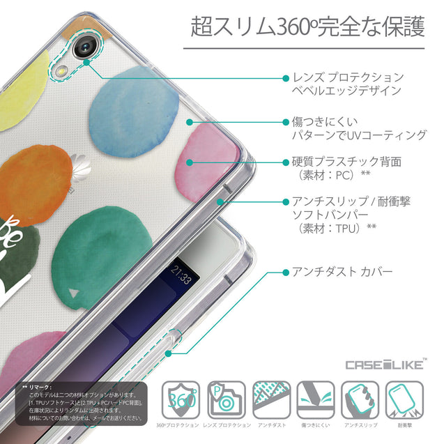 Details in Japanese - CASEiLIKE Huawei Ascend P7 back cover Quote 2420