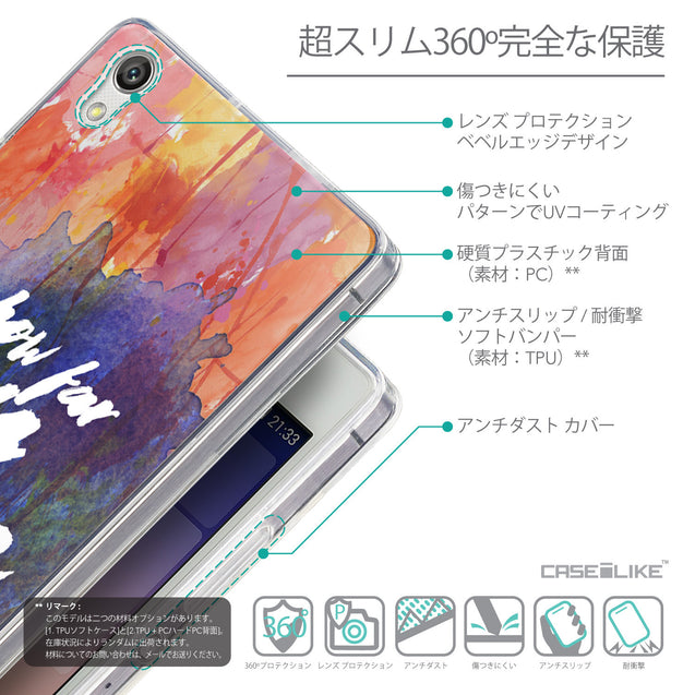 Details in Japanese - CASEiLIKE Huawei Ascend P7 back cover Quote 2421