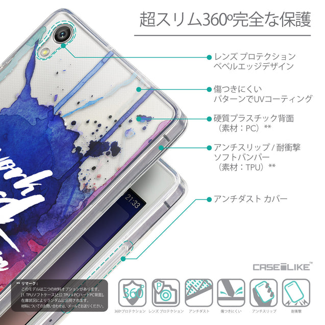 Details in Japanese - CASEiLIKE Huawei Ascend P7 back cover Quote 2422