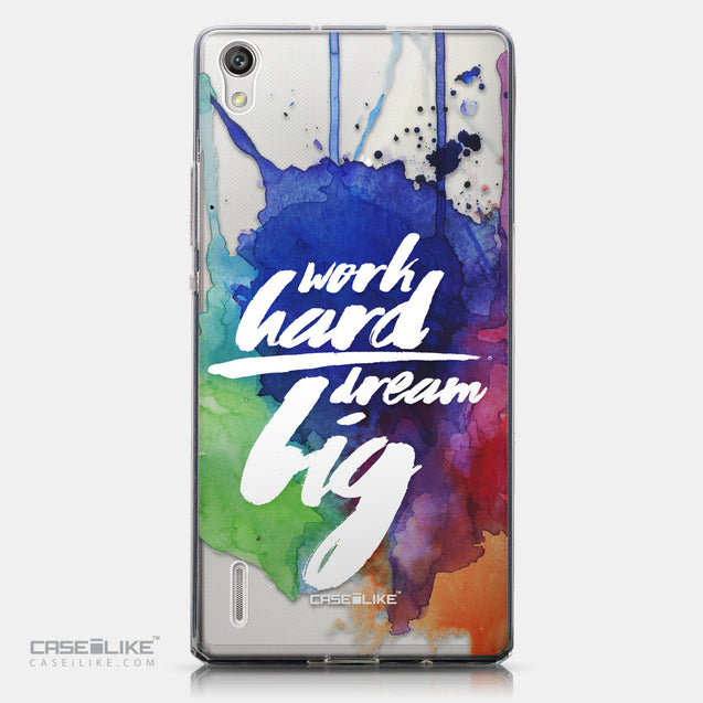 CASEiLIKE Huawei Ascend P7 back cover Quote 2422