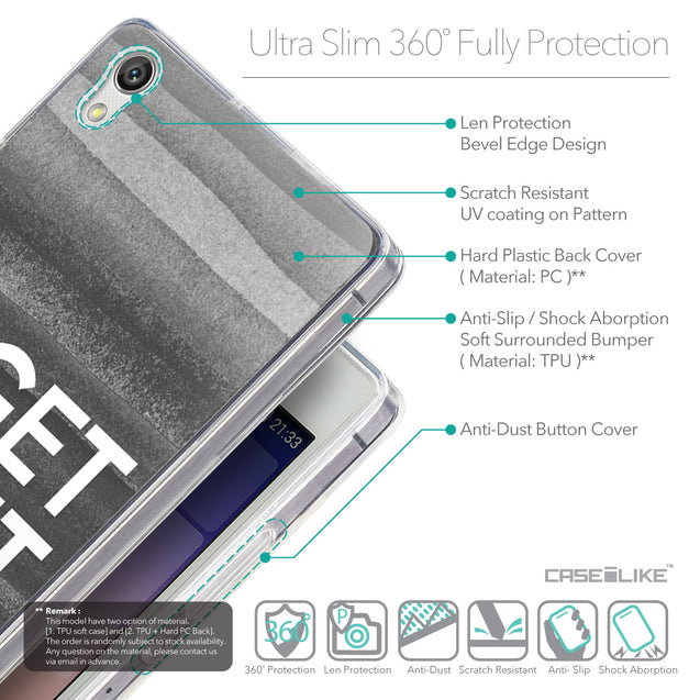 Details in English - CASEiLIKE Huawei Ascend P7 back cover Quote 2429
