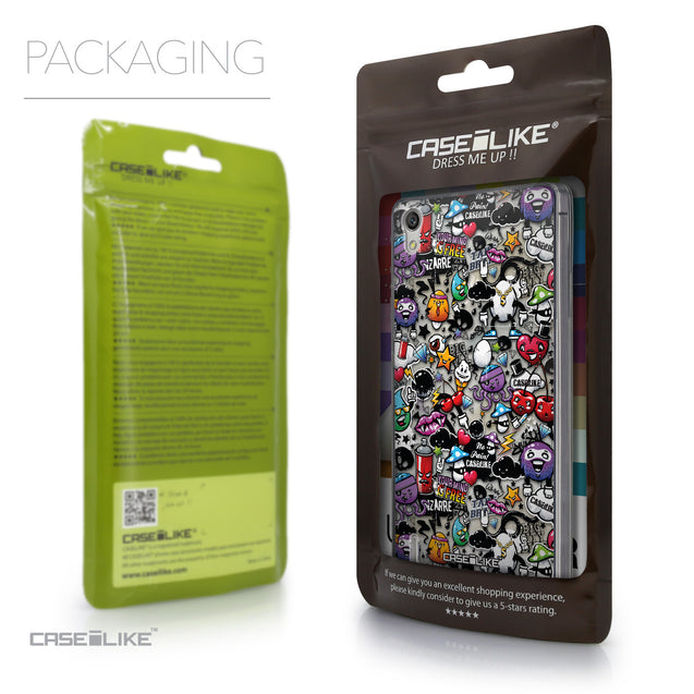 Packaging - CASEiLIKE Huawei Ascend P7 back cover Graffiti 2703