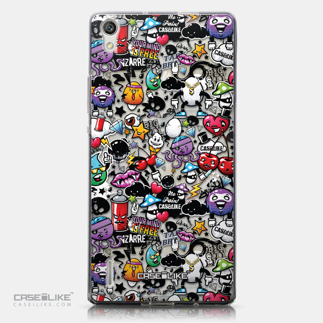 CASEiLIKE Huawei Ascend P7 back cover Graffiti 2703