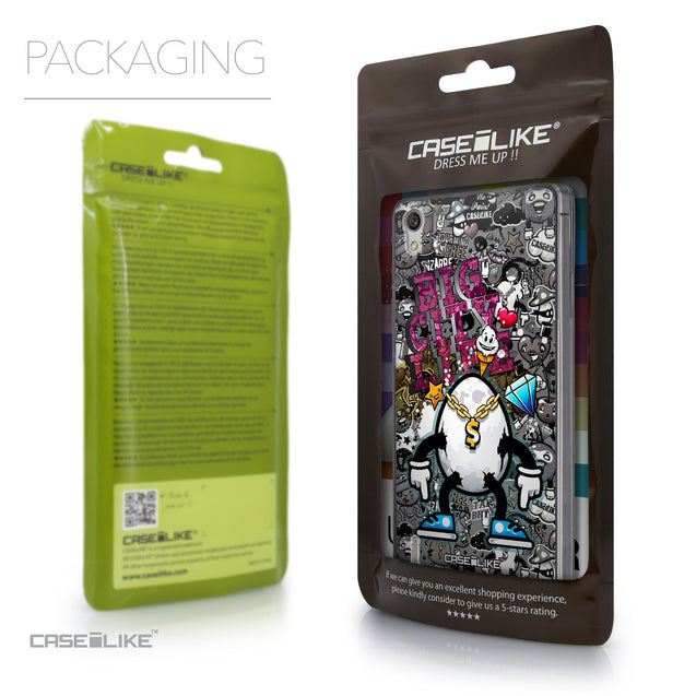 Packaging - CASEiLIKE Huawei Ascend P7 back cover Graffiti 2704
