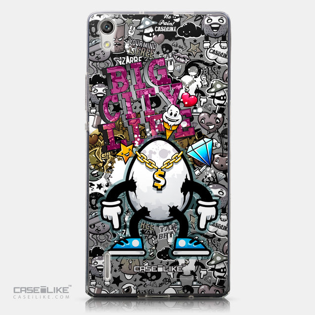 CASEiLIKE Huawei Ascend P7 back cover Graffiti 2704