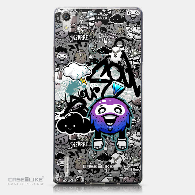 CASEiLIKE Huawei Ascend P7 back cover Graffiti 2706