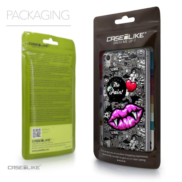 Packaging - CASEiLIKE Huawei Ascend P7 back cover Graffiti 2708