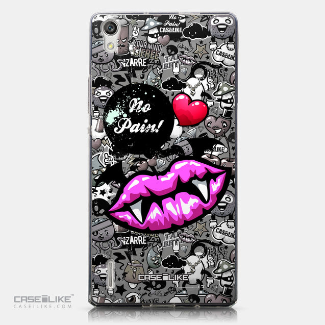 CASEiLIKE Huawei Ascend P7 back cover Graffiti 2708