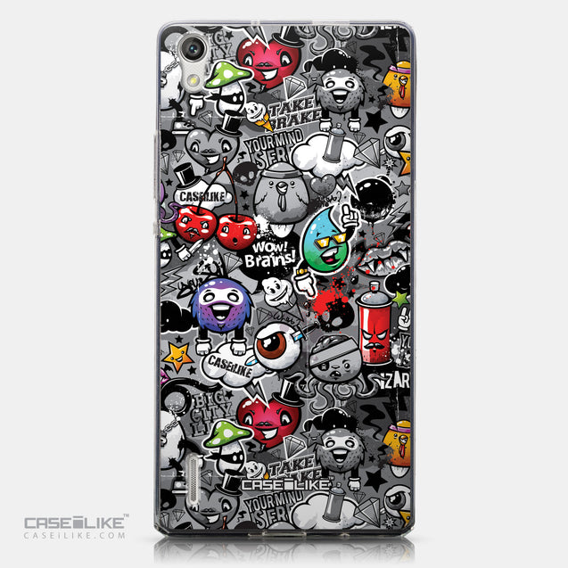 CASEiLIKE Huawei Ascend P7 back cover Graffiti 2709