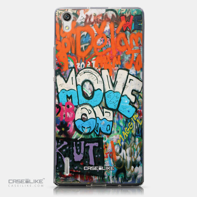 CASEiLIKE Huawei Ascend P7 back cover Graffiti 2722