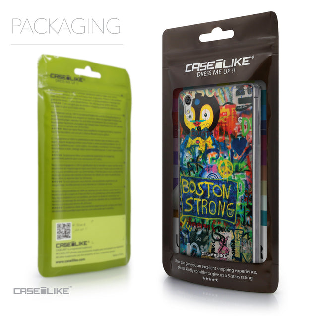 Packaging - CASEiLIKE Huawei Ascend P7 back cover Graffiti 2723