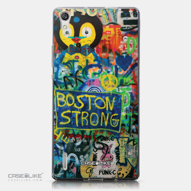 CASEiLIKE Huawei Ascend P7 back cover Graffiti 2723