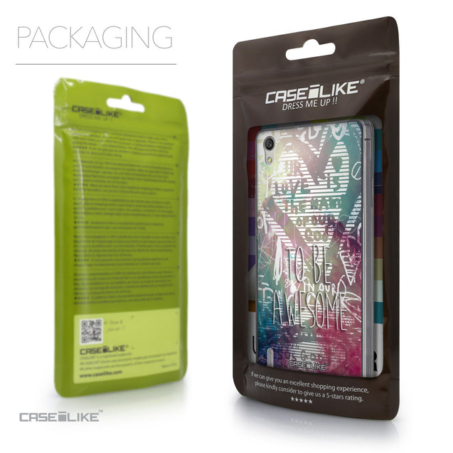 Packaging - CASEiLIKE Huawei Ascend P7 back cover Graffiti 2726