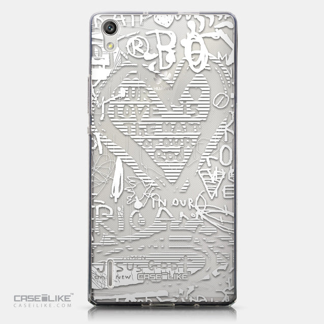 CASEiLIKE Huawei Ascend P7 back cover Graffiti 2730
