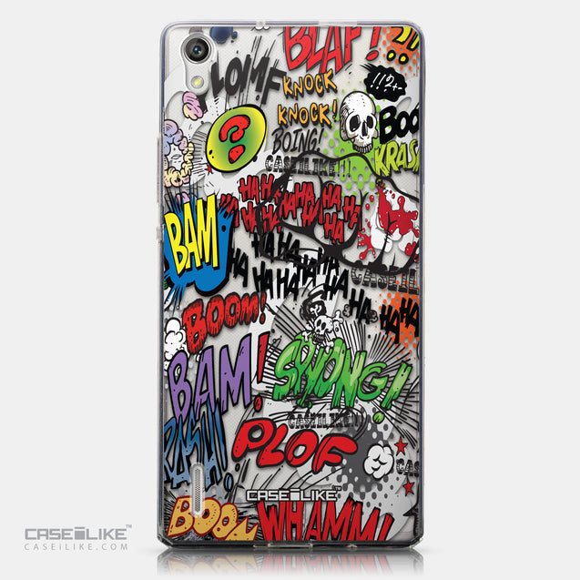 CASEiLIKE Huawei Ascend P7 back cover Comic Captions 2914