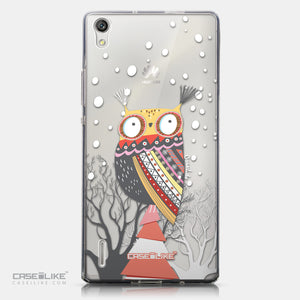 CASEiLIKE Huawei Ascend P7 back cover Owl Graphic Design 3317