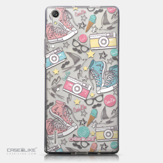 CASEiLIKE Huawei Ascend P7 back cover Paris Holiday 3906
