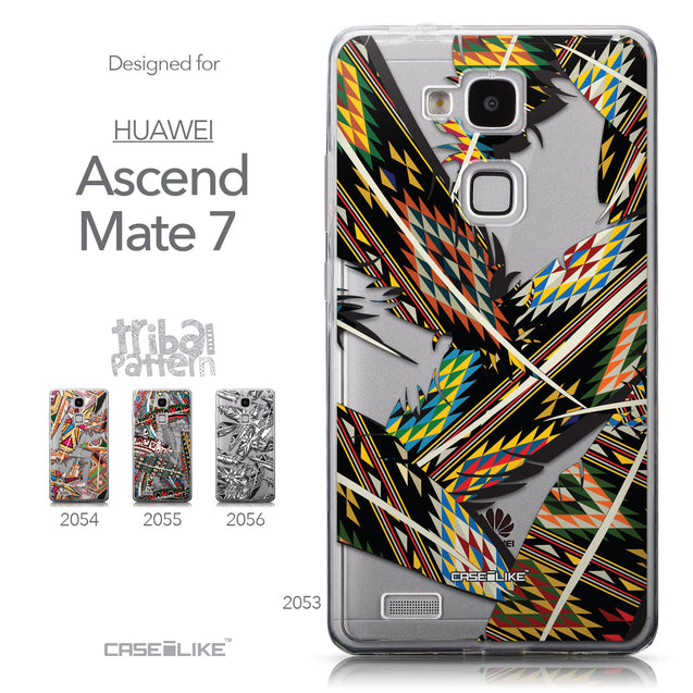 Collection - CASEiLIKE Huawei Ascend Mate 7 back cover Indian Tribal Theme Pattern 2053